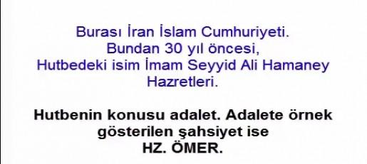 video imam ali hamaney hutbede hz omer in adaletini ovguyle anlatiyor vahdetin sesi